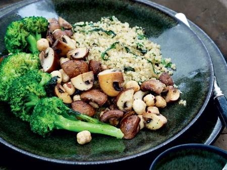 recept quinoa en broccoli